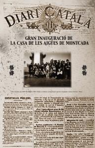 portada diari Casa de les Aigües Montserrat Miró 1-2