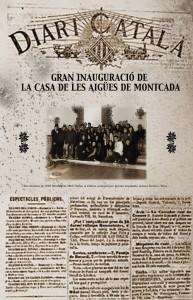 portada diari Casa de les Aigües Montserrat Miró 2