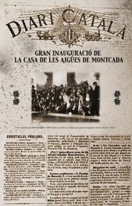 portada diari Casa de les Aigües Montserrat Miró 4t