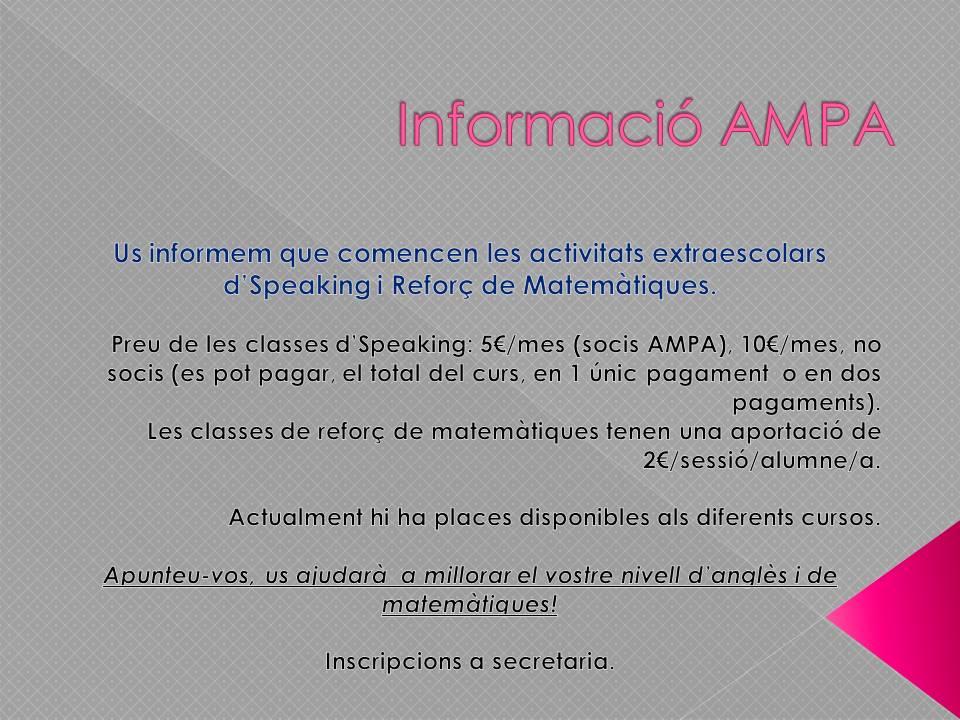 informacio-ampa