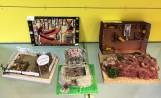 Maquetes de l'institut a la Biblioteca Elisenda de Montcada