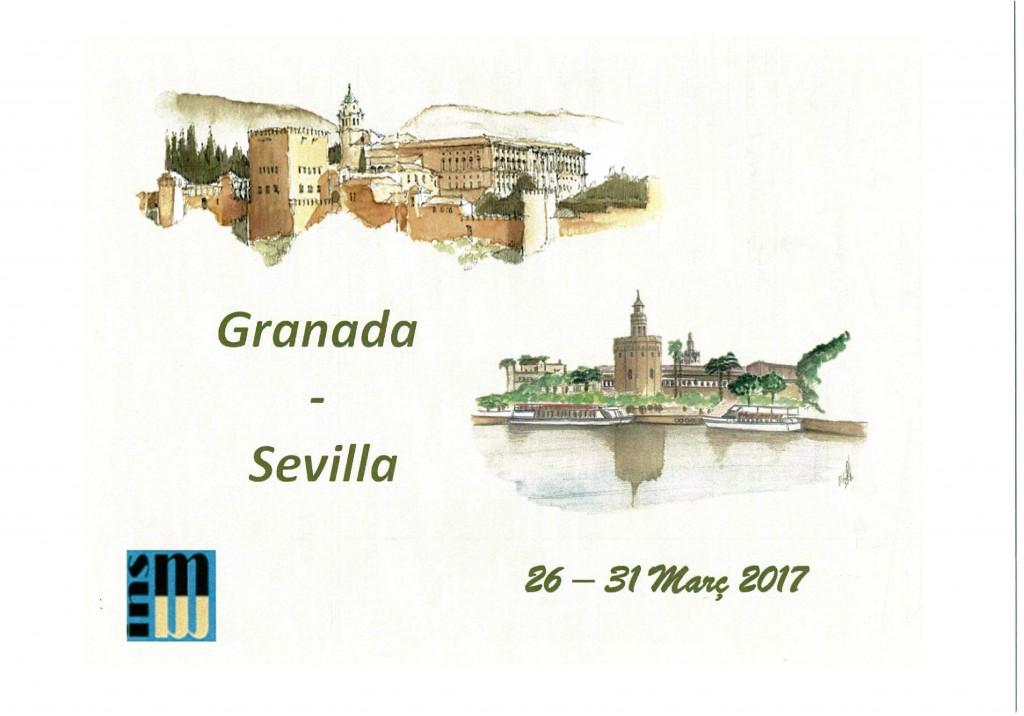 Viatge 4t d'ESO a Granada i Sevilla.