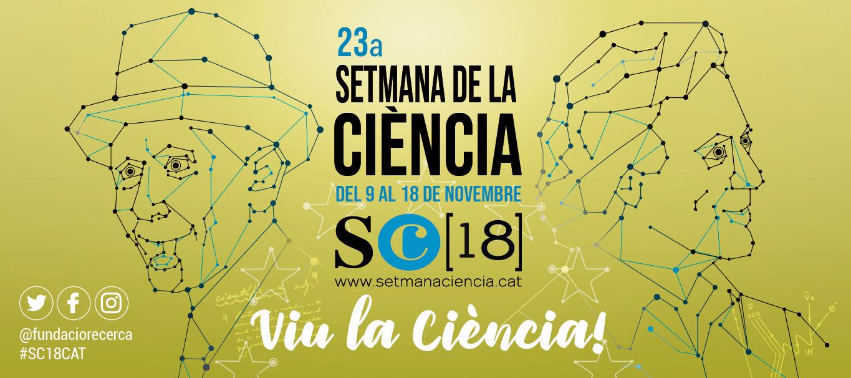 Setmana de la Ciència 2018